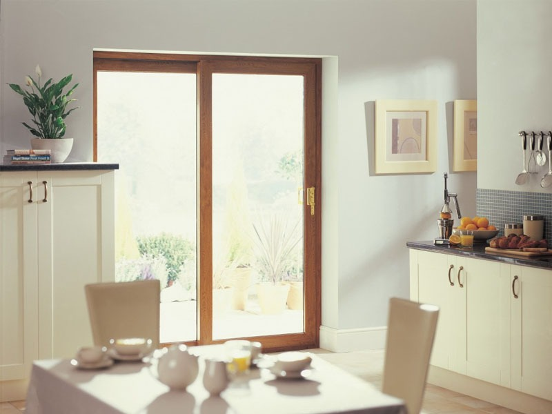 Upvc windows doors double glazing cheltenham glos for Wood effect upvc french doors
