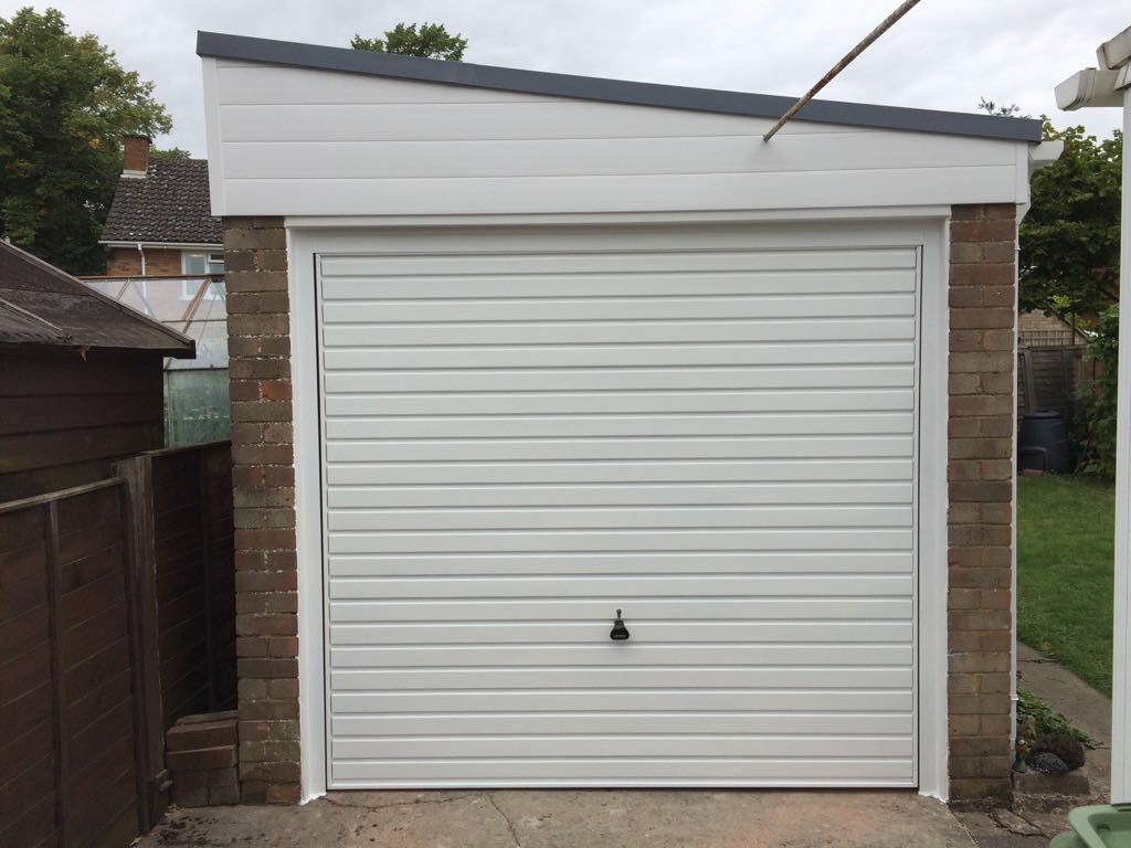 768 #4C5938 New Garage Door Fatra Waterproof Roofing And New Guttering  save image Garage Doors New 36871024