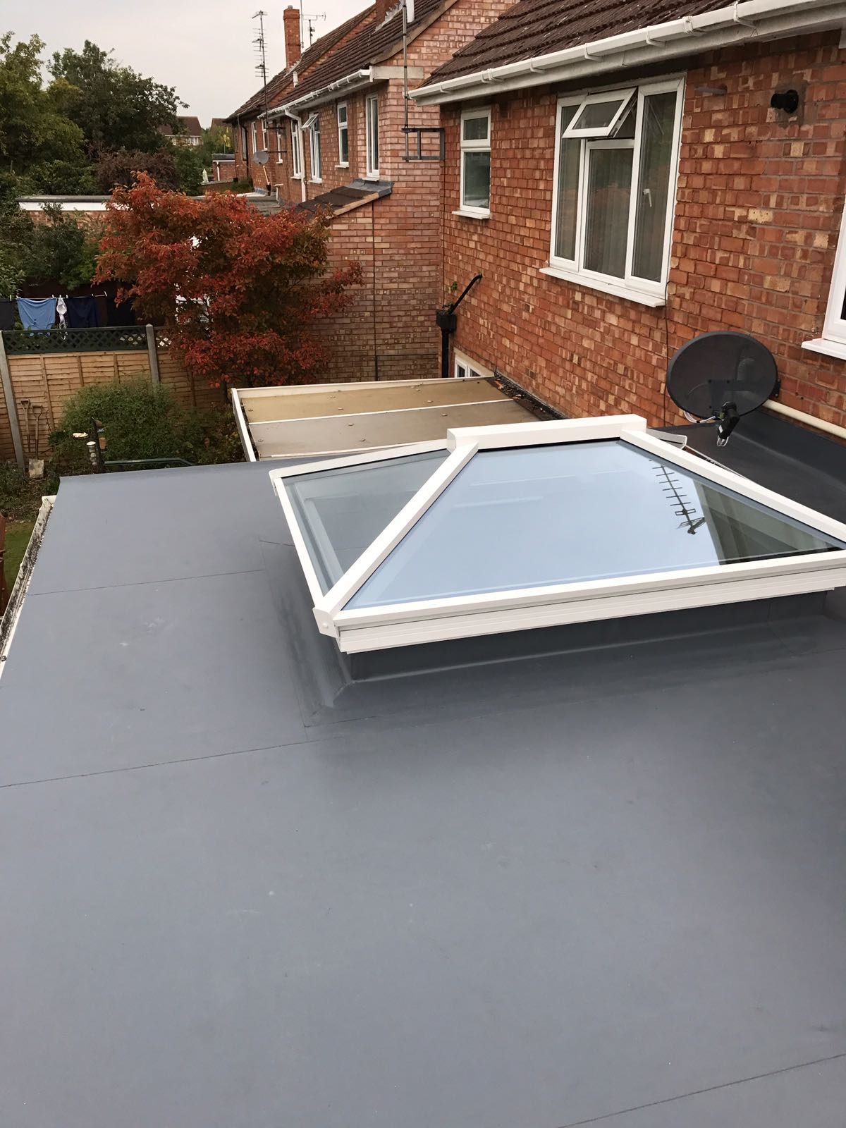 New Fatra Roof With Skylight Before Amp After Cheltenham