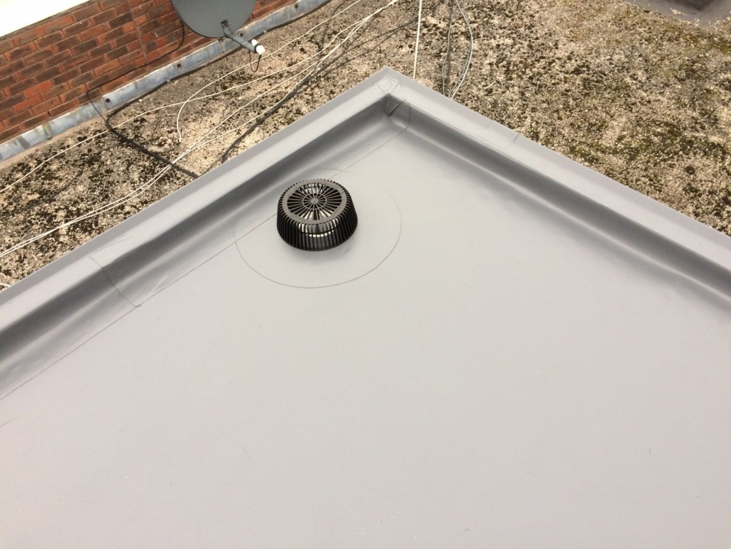 New Sarnafil Roofing System To The Gold Cup Boiler Room