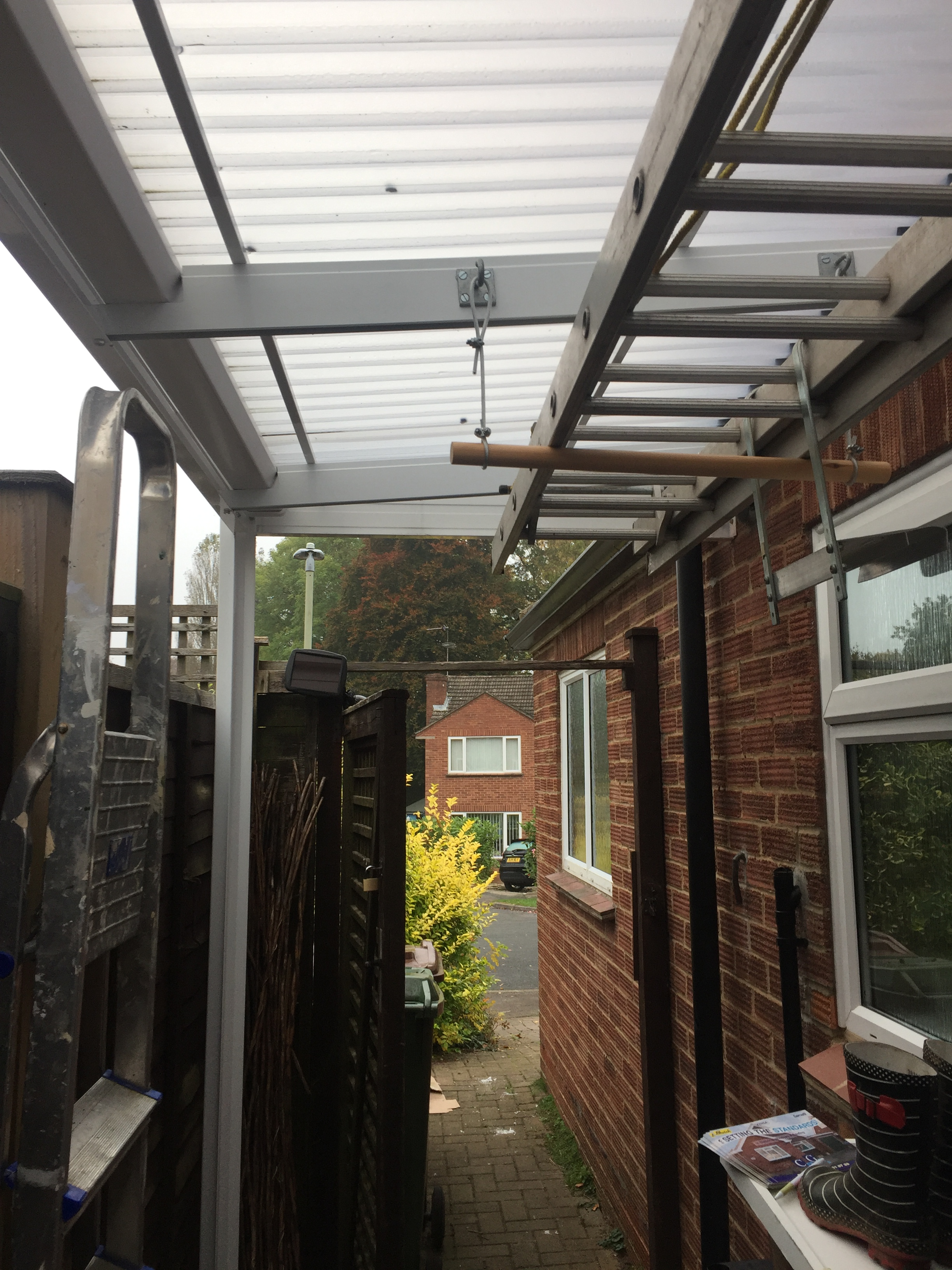 New White Pvcu Double Glazed Windows Amp New Covered Carport