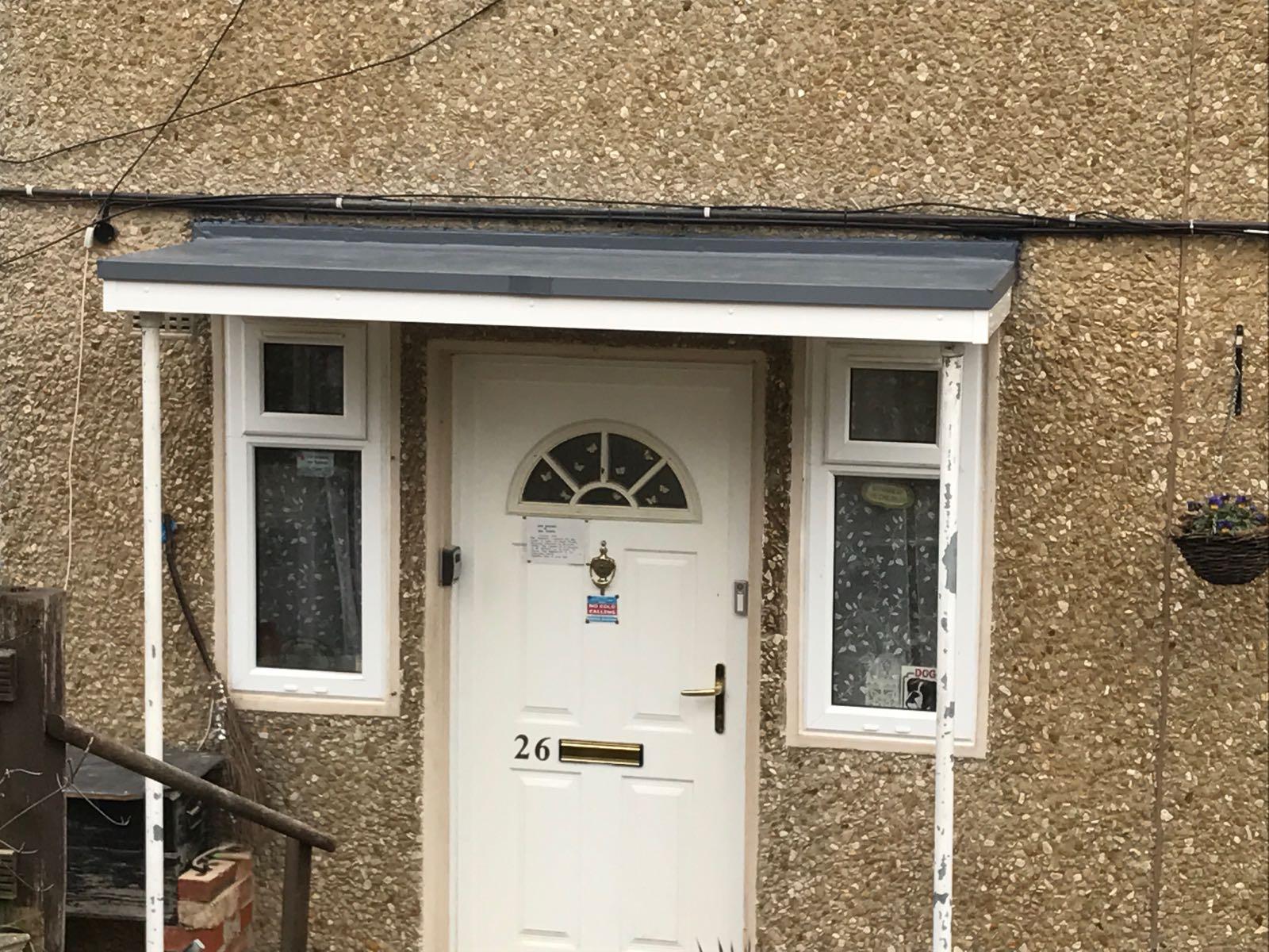 New over door canopy & New over door canopy | Cheltenham u0026 Gloucester Cladding