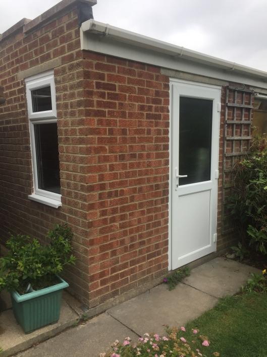 New Garage Doors with Windows