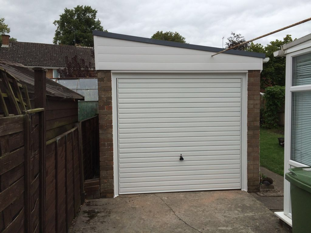 New Garage Door Fatra Waterproof Roofing And New