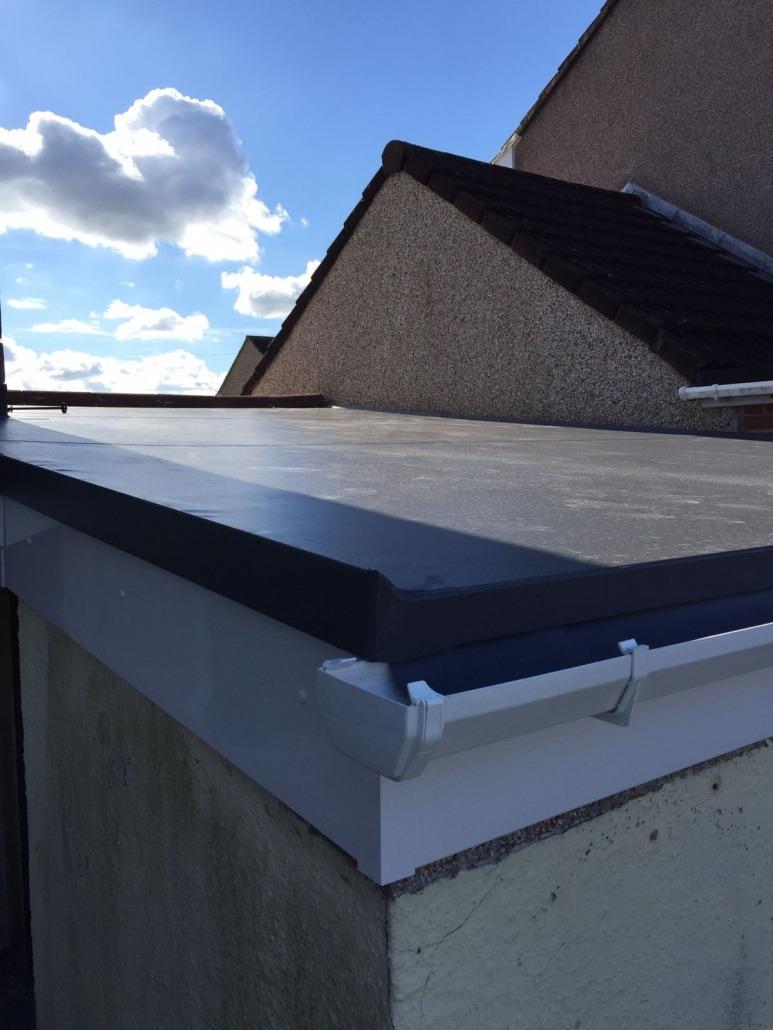 New Garage Refurb New Sarnafil Roofing Membrane New