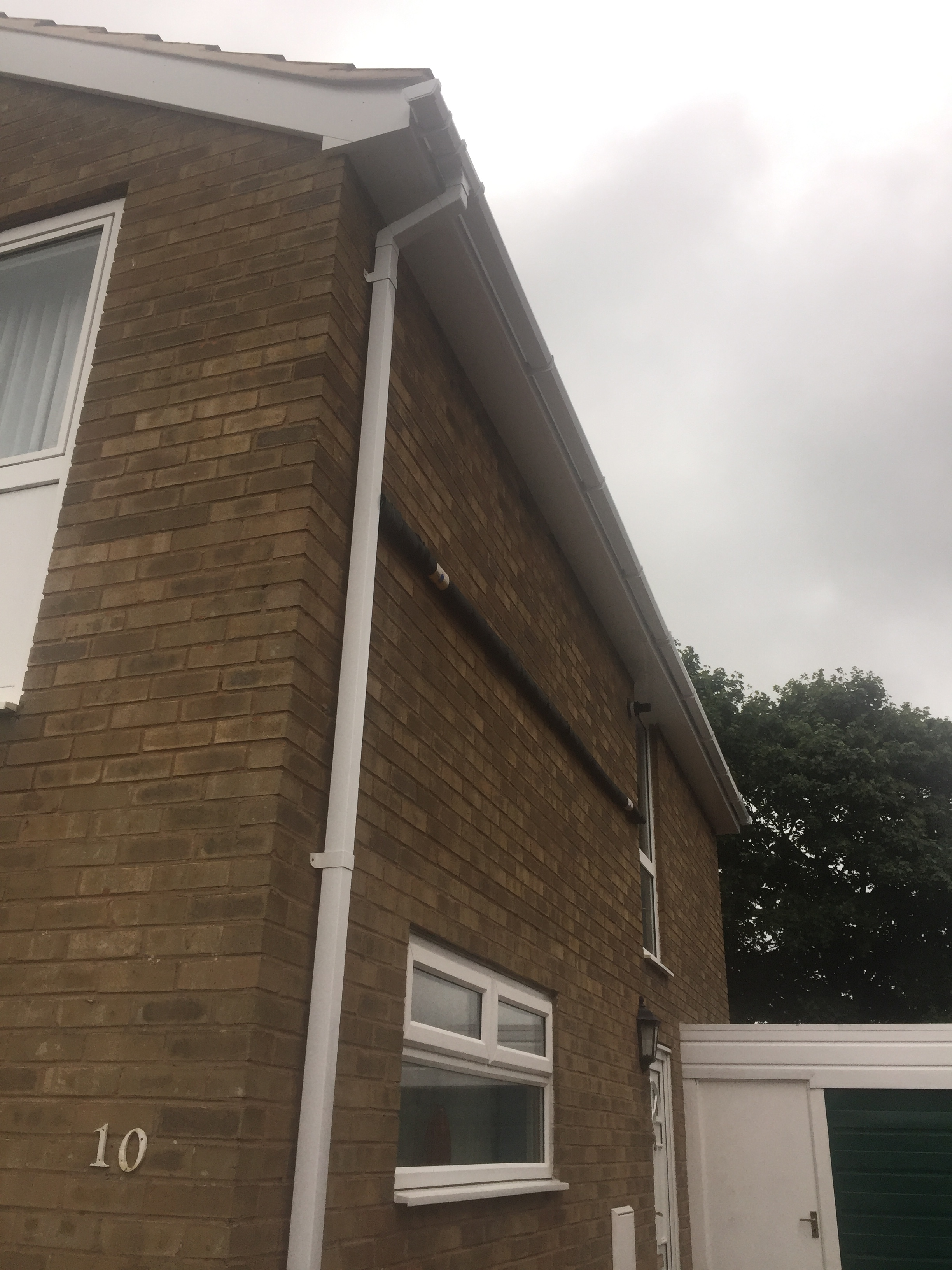 New Fascias Soffits Guttering Before Amp After