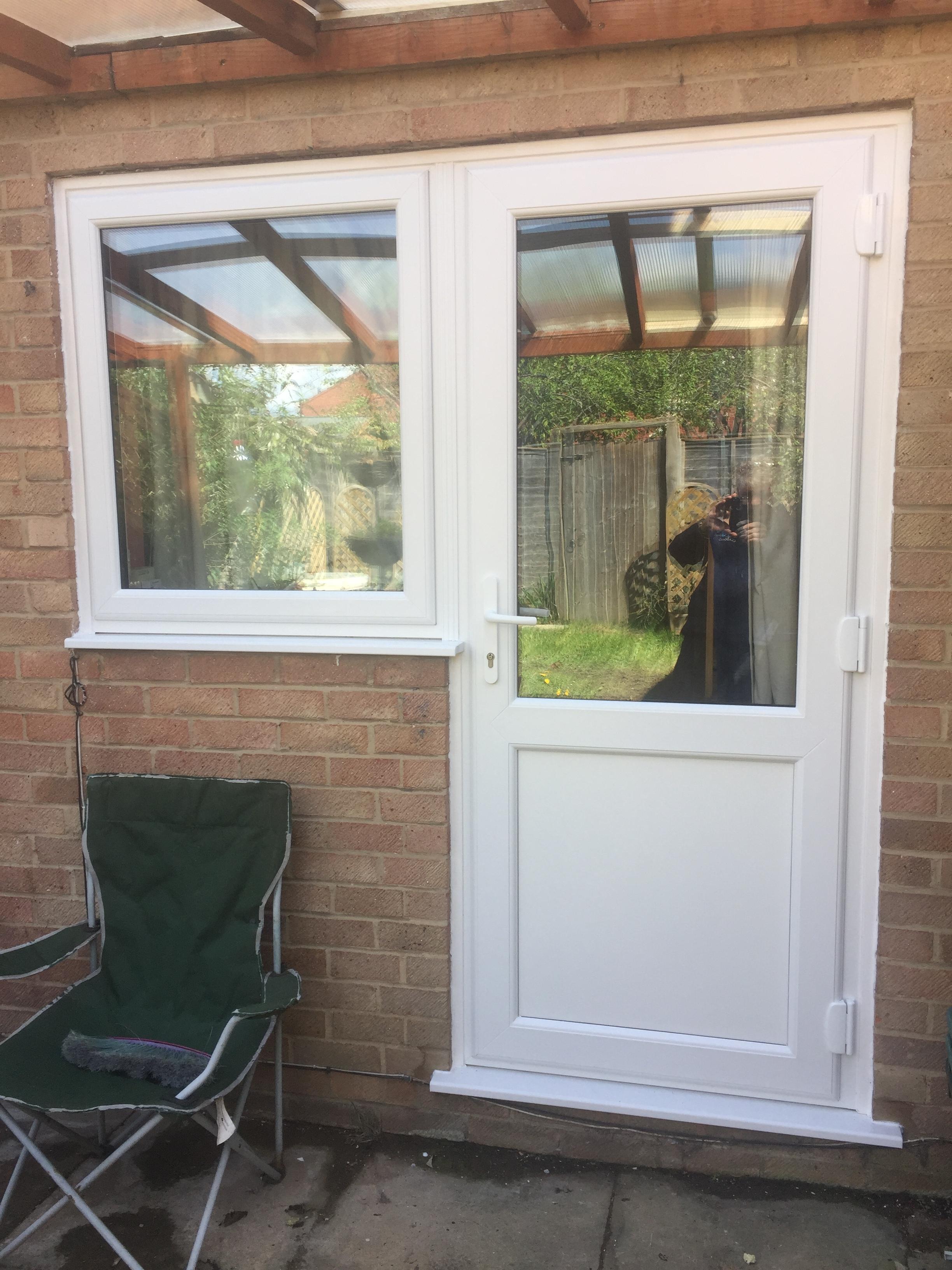 New Windows Door And New Roofing Sheets Cheltenham