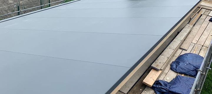 New Sarnafil Single Ply To New Build In Wantage Oxfordshire Cheltenham Gloucester Cladding